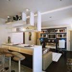 Designs Style White Open Plan Kitchen Lounge Modern