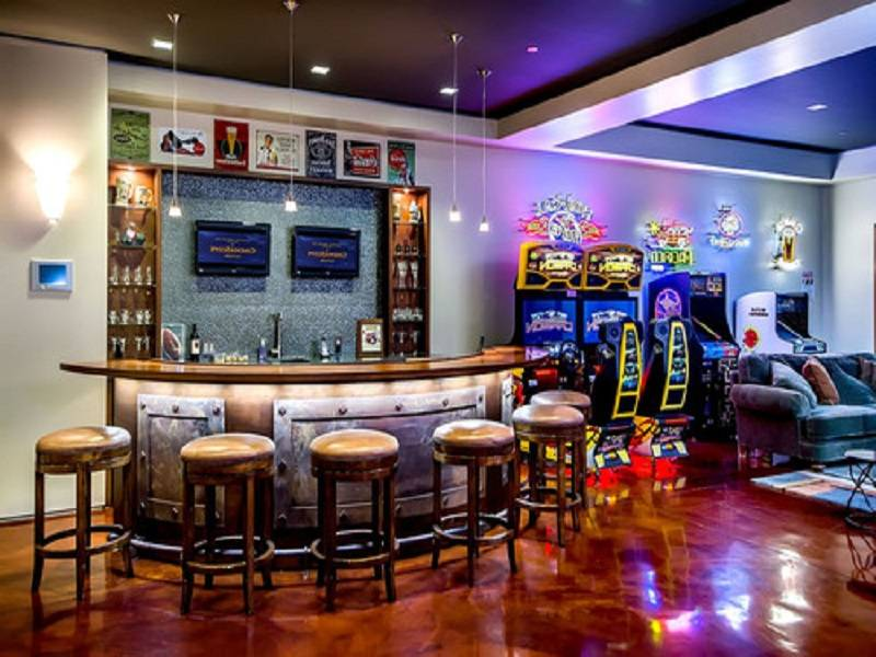 Designs Which Beautify Your House Man Cave Basement Wet Bar Plans House Plans 53888