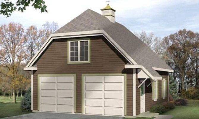 Detached Garage Loft Architectural Designs