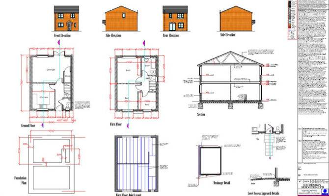 Detached House Planning Building Regulation Approvals Obtained