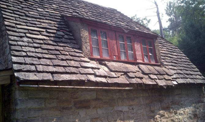 Detailed Featherstone Cottage Roof Before Restored