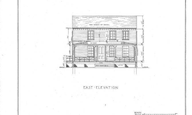 Details Colonial Saltbox Wood Frame Architectural House Plans