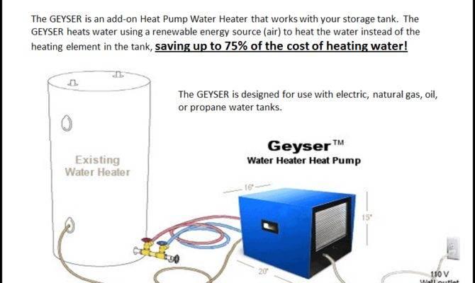 Details Geyser Electric Heat Pump Water Heater
