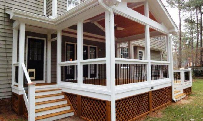 Details Screened Porch Ideas Appealing