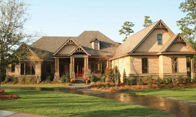 Dickerson Creek Rustic Home Plan House Plans