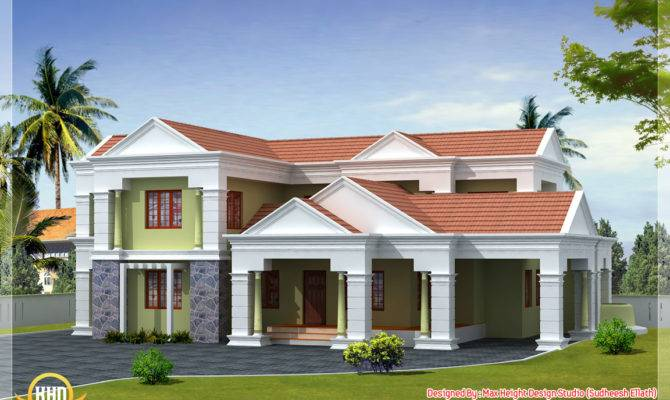 Different Indian House Elevations Kerala Home Design Floor Plans