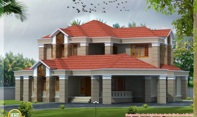 Different Style India House Elevations Kerala Home