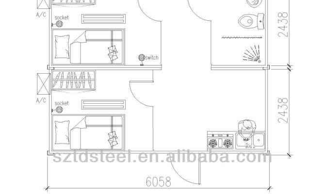 Different Types Container House Plans Drawing