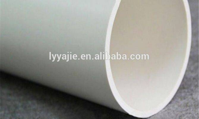 Different Types Pvc Drainage Plastic Pipe Buy