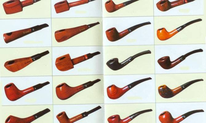 Different Types Smoking Pipes