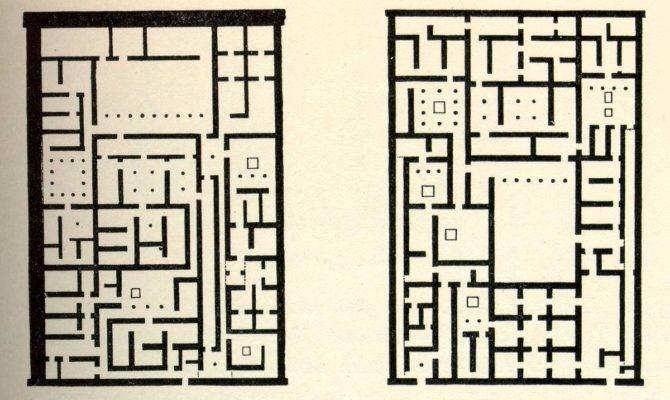 Displaying Ancient Greek House Plan