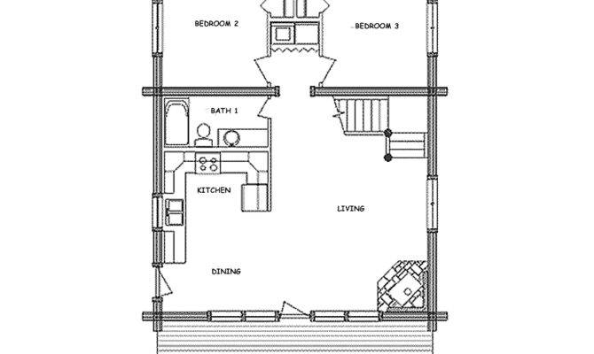 Displaying Small Cabin Floor Plans
