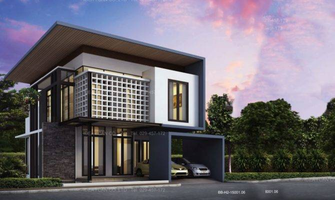 Displaying Story Modern House Plans