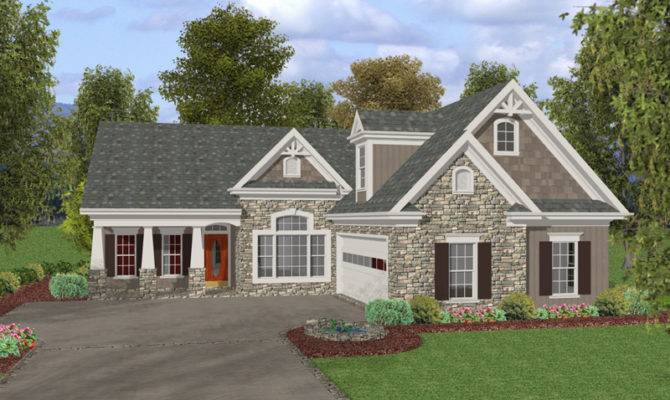 Dixonville Craftsman Home Plan House Plans More