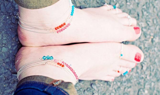 Diy Ankle Bracelets Accessory Your Summer Wardrobe
