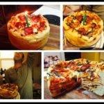 Diy Birthday Pizza Cake Recipe Tag