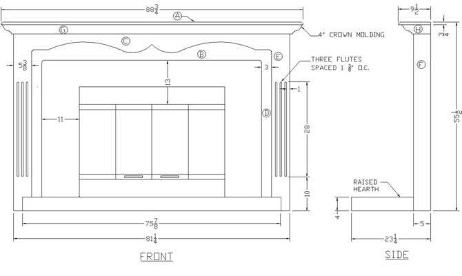 Diy Build Fireplace Mantel Plans