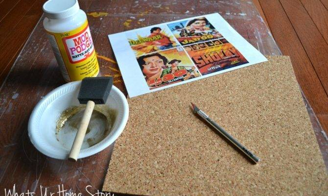 Diy Cork Coasters Whats Home Story
