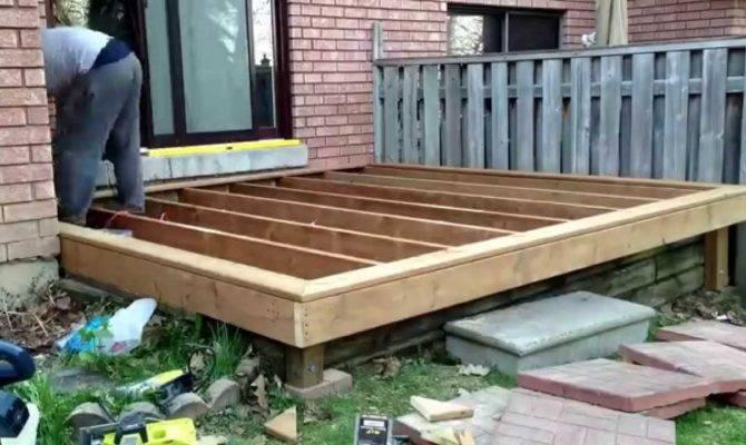 Diy Deck Build Timelapse Son