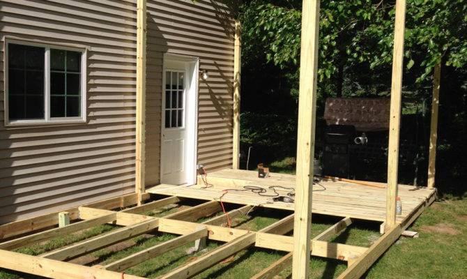 Diy Deck Building Plans Pin Pinterest