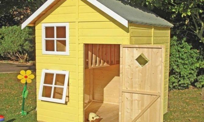 Diy Designs Kids Pallet Playhouse Plans Wooden