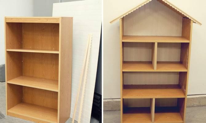 Diy Dollhouse Bookshelf Simple