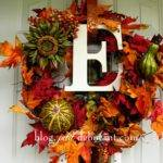 Diy Fall Wreaths Ideas Classy Clutter