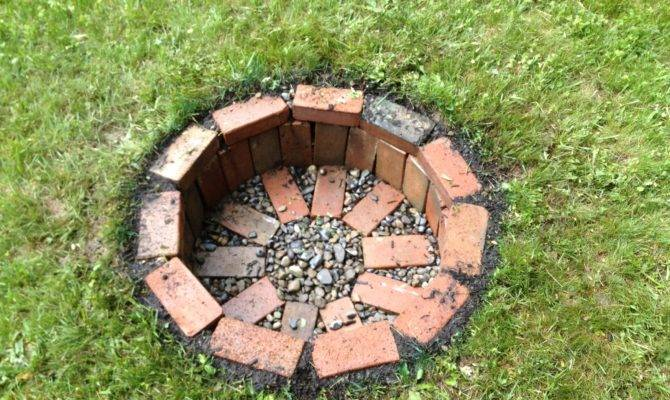 Diy Fire Pits Your Backyard Craftiest Couple