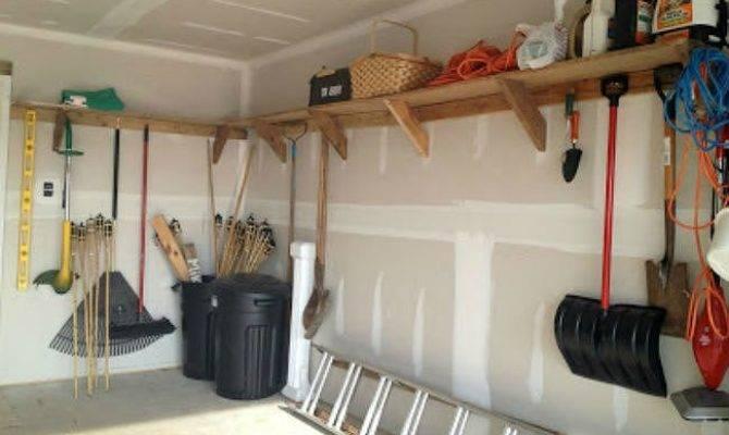 Diy Garage Shelves Ways Build Yours Bobvila