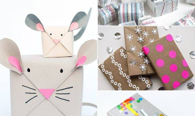 Diy Gift Wrap Popsugar Smart Living