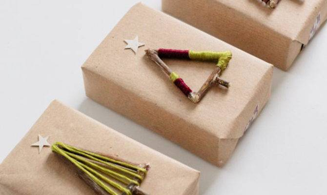Diy Holiday Gift Wrap Ideas Crafted Life
