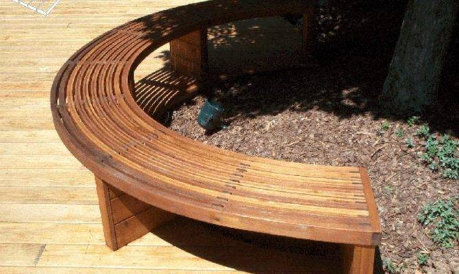 Diy Make Curved Wood Bench Plans Built