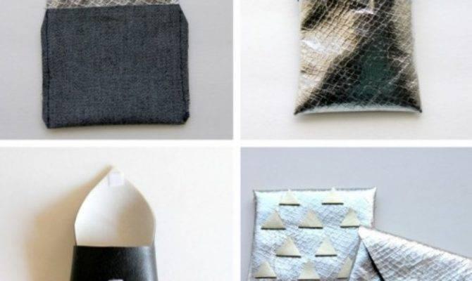 Diy Metallic Envelope Card Holders Shelterness