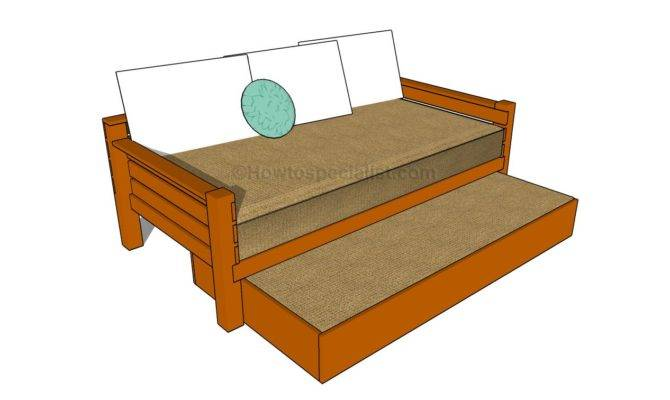 Diy Plans Build Trundle Bed