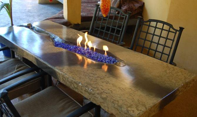 Diy Portable Glass Fire Pit Fireplace Design Ideas