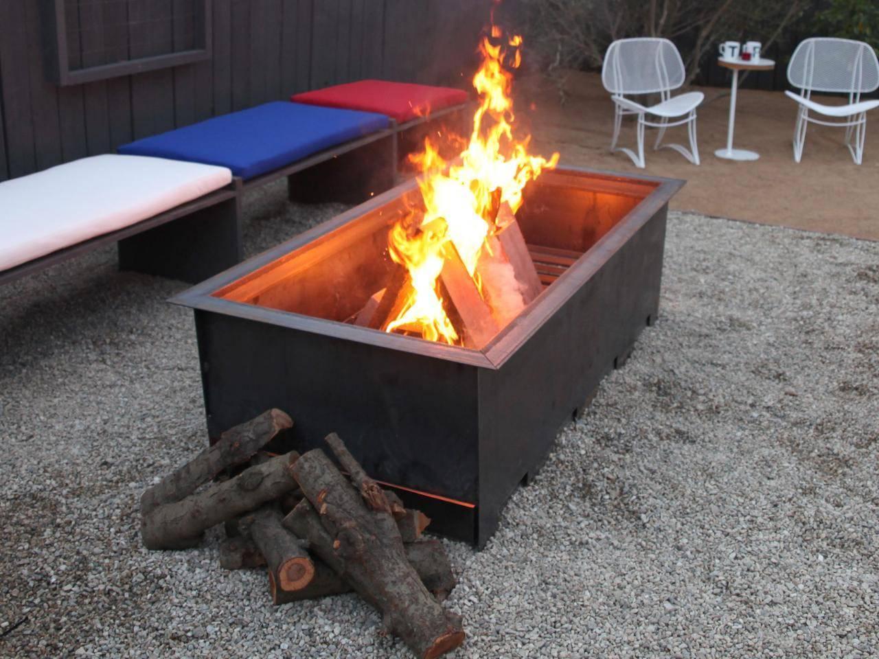 Portable Patio Fire Pit Design Ideas