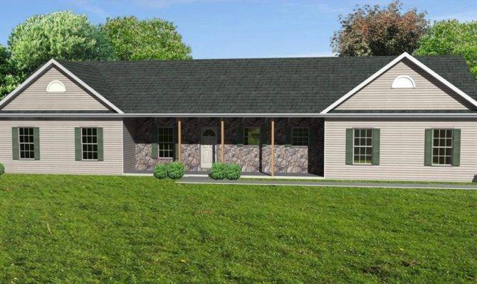 Diy Simple Ranch House Plans Wooden Houses
