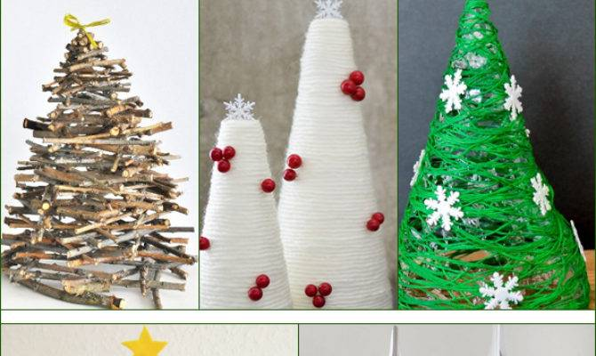 Diy Tabletop Christmas Tree Decorations Your Home