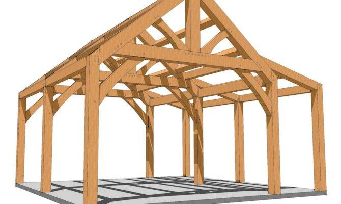 Diy Timber Frame Shed Your Self