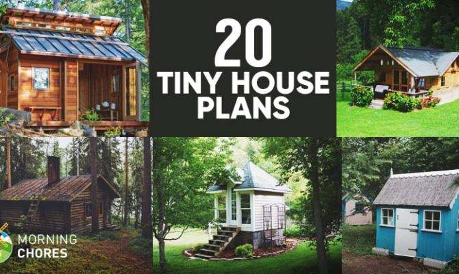 Diy Tiny House Plans Help Live Small