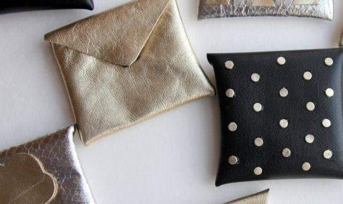 Diy Tutorial Bags Make Metallic Gift Card