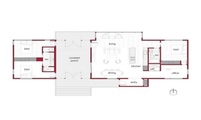 Dog Trot Floor Plans Modern House Simple