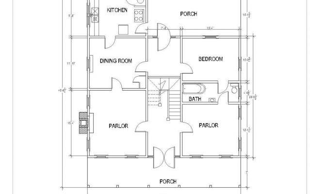 Dog Trot House Floor Plans Modern Plan