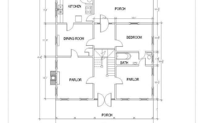14 Fresh Dogtrot House Floor Plan House Plans