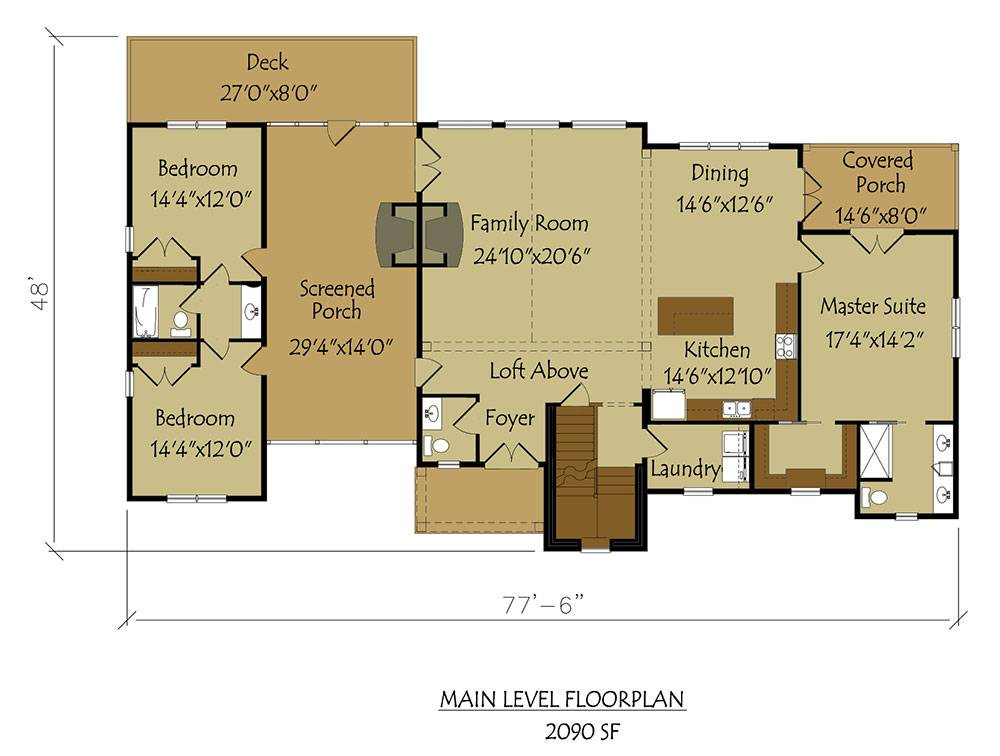 Dogtrot House Plan Large Breathtaking Dog Trot Style ...