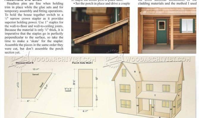 Doll House Plans Woodarchivist