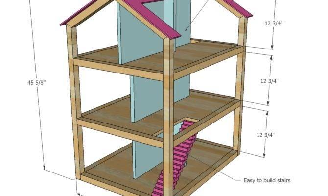 Dollhouse Plans Woodworking General Freepdf