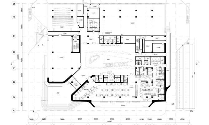 Dominion Office Building Moscow Zaha Hadid Architects