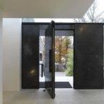 Door Design Modern Stone House Contemporary Interior