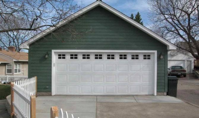 Door Detached Car Garage Plans